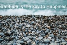 Gratitude is the key to Happiness / Gratitude is the key to Happiness