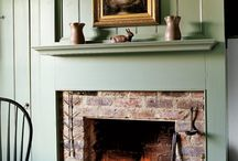 fireplace / by Judy Ricard