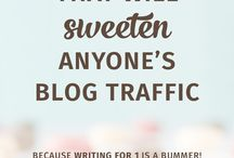 Blogging - Increase Your Traffice / Discover ways to bring more readers to your blog. | Build Blog Traffic | Get More Page Views | Expand Your Reach