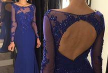 Vestidos: Espalda descubierta