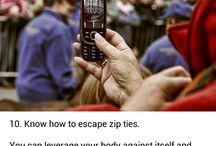 Self defense / Survival tips