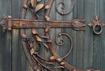 Doors, Gates and other amazing Architectural Details / fantasy iron work, carvings, scroll work on doors, windows, stairways and other places