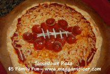 $5 Family Fun - Super Bowl  / Have fun & affordable Super Bowl fun for $5 or less.   Touchdown Pizza - $4.97  Several Football-Themed Activities - all $0