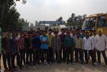 Jagjit Industries / B.Tech Sem 1 students visited Jagjit Industries