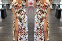 ♡High Slit Maxi Dress♡