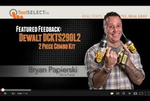 Cordless Power Tool Combo Kits / by ToolSELECT.com
