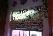 Blinds DIY (some NO SEW), fabrics & windows too