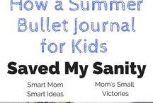 Bullet Journal for kids