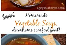 Recipes - Soups and Stews / Luscious soups, stews and chili's for cool weather!