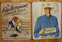 Vintage Western Wear / by Susie Blackmon