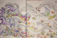 Animorphia / My colourings from Animorphia Book