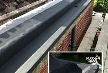 Gutter Liner System / Unifold gutter lining system that appears most advantages.