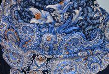 russian foulard