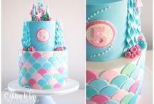Cake decorating girls