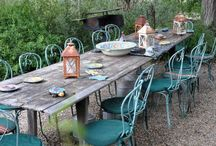 Outdoor spaces / Gardens I like