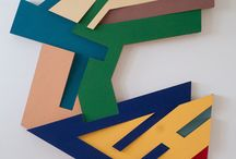 Shaped canvases
