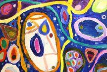 Year 7 Abstract - Gillian Ayres