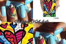Belissima Nail Art's / vendas de adesivos de unhas