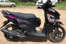Rent a Scooter at Alona beach, Bohol