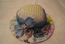 sombreros miniaturas
