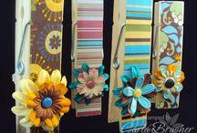 Memo Clip/Clothespin Crafts / by Darla Moore