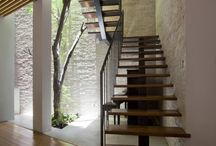 Stairs, vides & glazing
