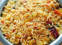 Will post variety rice recipes soon...  Lunch box special .. easy and quick preparation