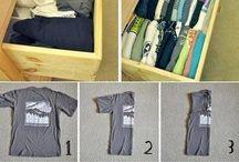 Organização de roupa