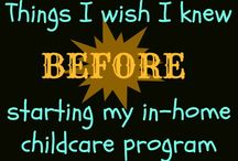 Daycare tips/ideas