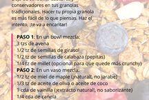 granola y cosas saludables