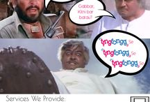 Thakur And Gabbar With Tingtongg-Laundry Services