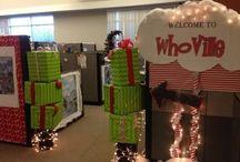 Decoraciones navideña de oficinas