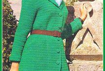 Crochet skirt, dresses, pants