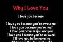 I LOVE YOU/ TI AMO