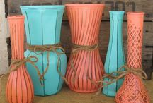 Coral & Turquoise / by Kimberly Carter Odom
