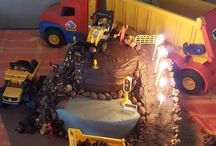 Aiden's construction themed birthday party! / Birthday party...construction theme
