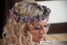 Jacqui O Wedding Flower crown