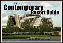 Disney's Contemporary Resort Walt Disney World Resort Tips, Discount Codes & Information / A Walt Disney World Deluxe Resort. Stay in the magic! Check out the resort rates, room types & room views, maps & room layouts.  Discover on-site resort benefits like Extra Magic Hour, FastPass+, MyDisneyExperience and so much more.  Learn more about discounts, dining menus, restaurants, pools, kid's activities and other recreation information.  Walk to the Magic Kingdom or take the monorail.