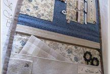 costureros y bolsas de costura