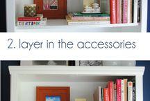 bookshelf and ct styling