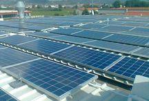 Impianto Calzaturificio Monsummano Terme / rimozione e smaltimento copertura in amianto con rifacimento e successiva installazione di impianto fotovoltaico da 36 kW atto a coprire il fabbisogno elettrico dell'azienda
