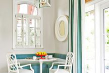 Kitchen Makeovers / Kitchen Makeovers that feature white cabinets, rustic cabinets, and open shelving