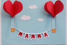 Feste mamma papà donna e nonni