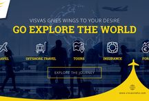 Corporate Travel Management / At Visvas, we make all our travel plans for you with one goal in mind – your complete satisfaction. Our associates work tirelessly to ensure that every process and control mechanism adds to savings opportunities for your organization without any compromise in service quality.