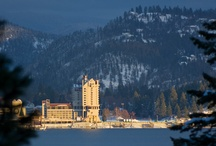 """Resort Facebook Feed / With idyllic landscape, year-round activities, and its spectacular setting at the shore of one of America's most beautiful lakes, it is no wonder that Coeur d'Alene has been christened the """"Playground of the Northwest""""."""