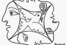 artistas obras lineas