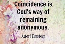 The Love Quotes Celebrity Quotes : What is concidence according to Albert Einstein…