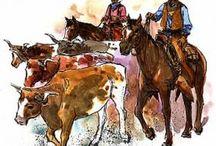 Thema cowboys en indianen