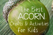 Fall Crafts + Activities / Fall crafts, fall art, fall traditions, fall parties, fall printables, fall recipes