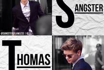 Thomas Brodie-Sangster / Thomas Brodie-Sangster always makes me smile when I'm frowning! He makes me happy when I'm sad! I will never forget about him throughout my life